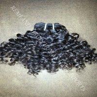 Short Curly Human Hair