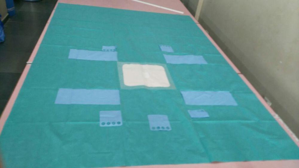 Laparoscopy Drape With Incise
