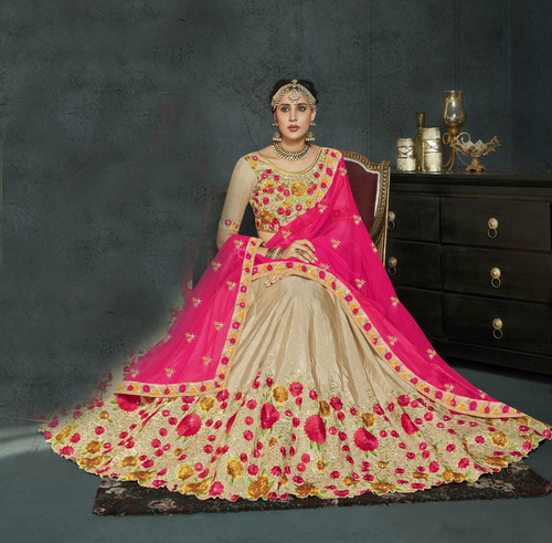 Dersigner party wear lengha choli