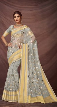 Organza Silk Saree