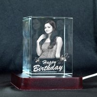 3D CRYSTAL BIRTHDAY GIFT