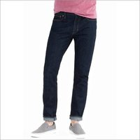 Mens J Crew Driggs Dark Denim Jeans