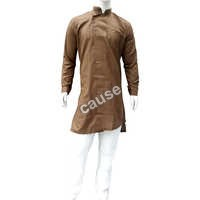 Mens Brown Kurta Pajama