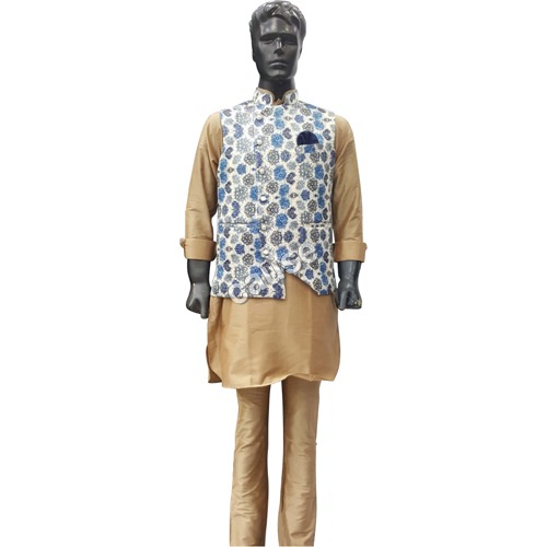 Mens Yellow Kurta Pajama