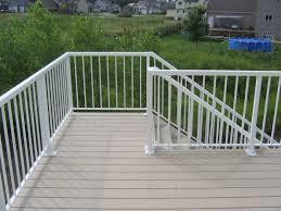 Aluminium Deck Railing