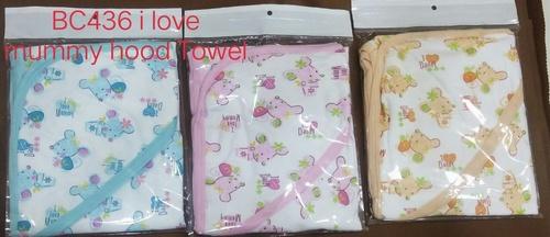 Mummy Hood Towel -BC436