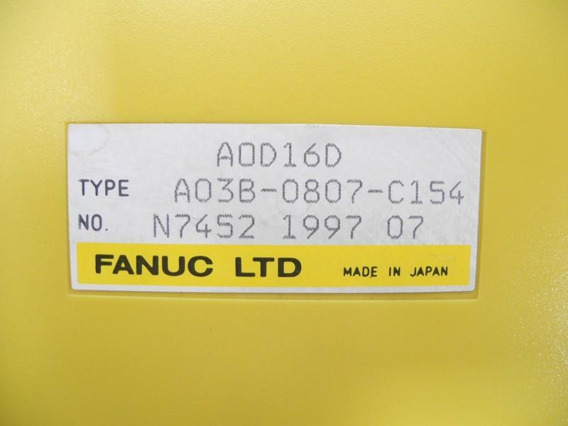 FANUC A0D16D