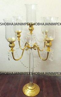 Gold Acrylic Wedding Centerpieces