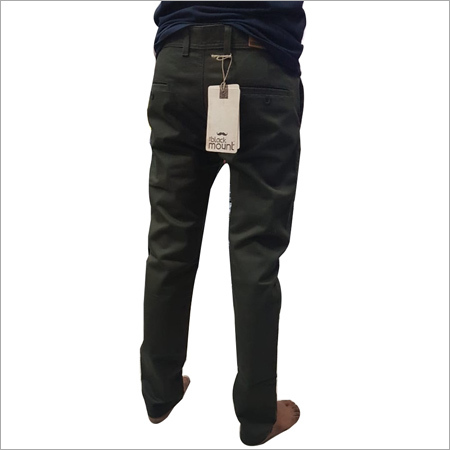 Mens Formal Plain Trouser