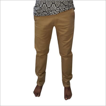 Mens Slim Fit Cotton Chinos Pants