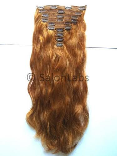 Colored Clip On Hair