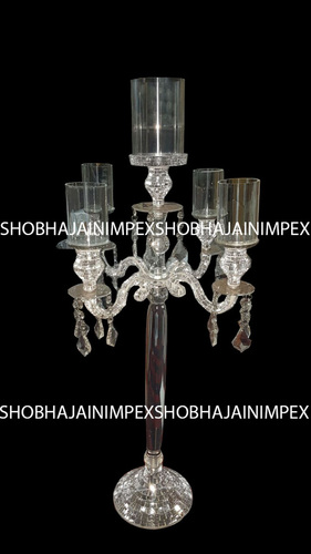 Wedding Acrylic Crystal Theme Candle Stand