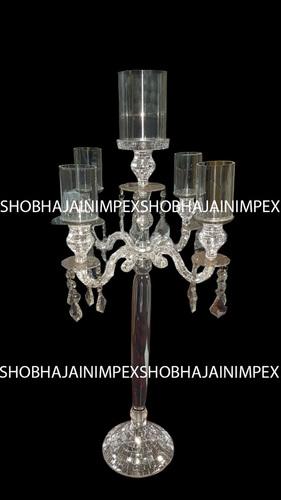 Wedding Acrylic Crystal Theme Candle Stand
