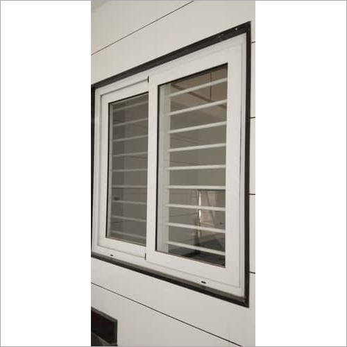 2 Track Sliding Window With Grill