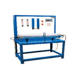 Parallel Flow Counter Flow Heat Exchanger Apparatus