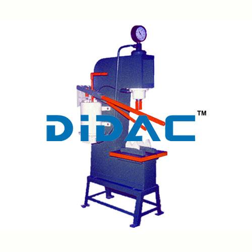 C Type Hand Operated Hydraulic Press