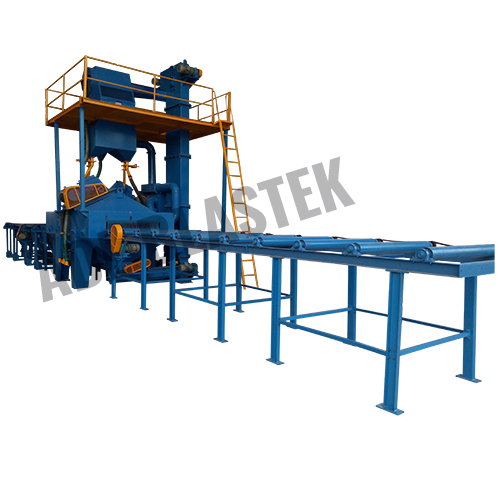 ROLLER CONVEYOR FOR BRIGHT BARS