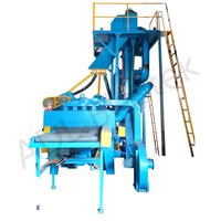 Roller Conveyor /Bar Shot Blasting Machine