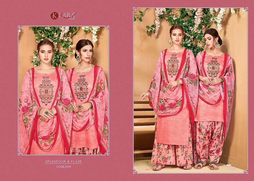 Embroidered Ladies Suit