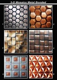 Metal Bonded Mosaic Tiles