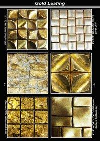 Gold Leaf Mosaic Tiles