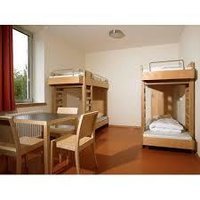 Wooden Hostel furniture