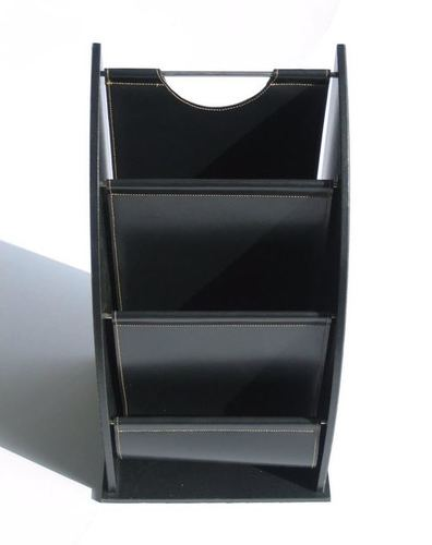 Leather & Leatherette Magazine Holder