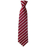 Stripped School Tie