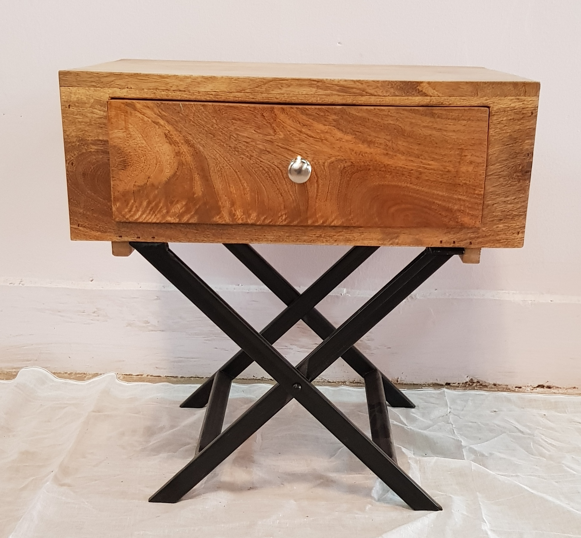 Table With  Nightstand