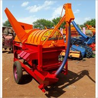 Multicrop Thresher with Elevator & Missile 4 Fan