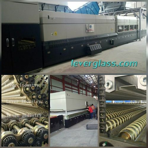 Flat and Single Bending glass tempering Furnace