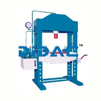 H Type Power Operated Hydraulic Press