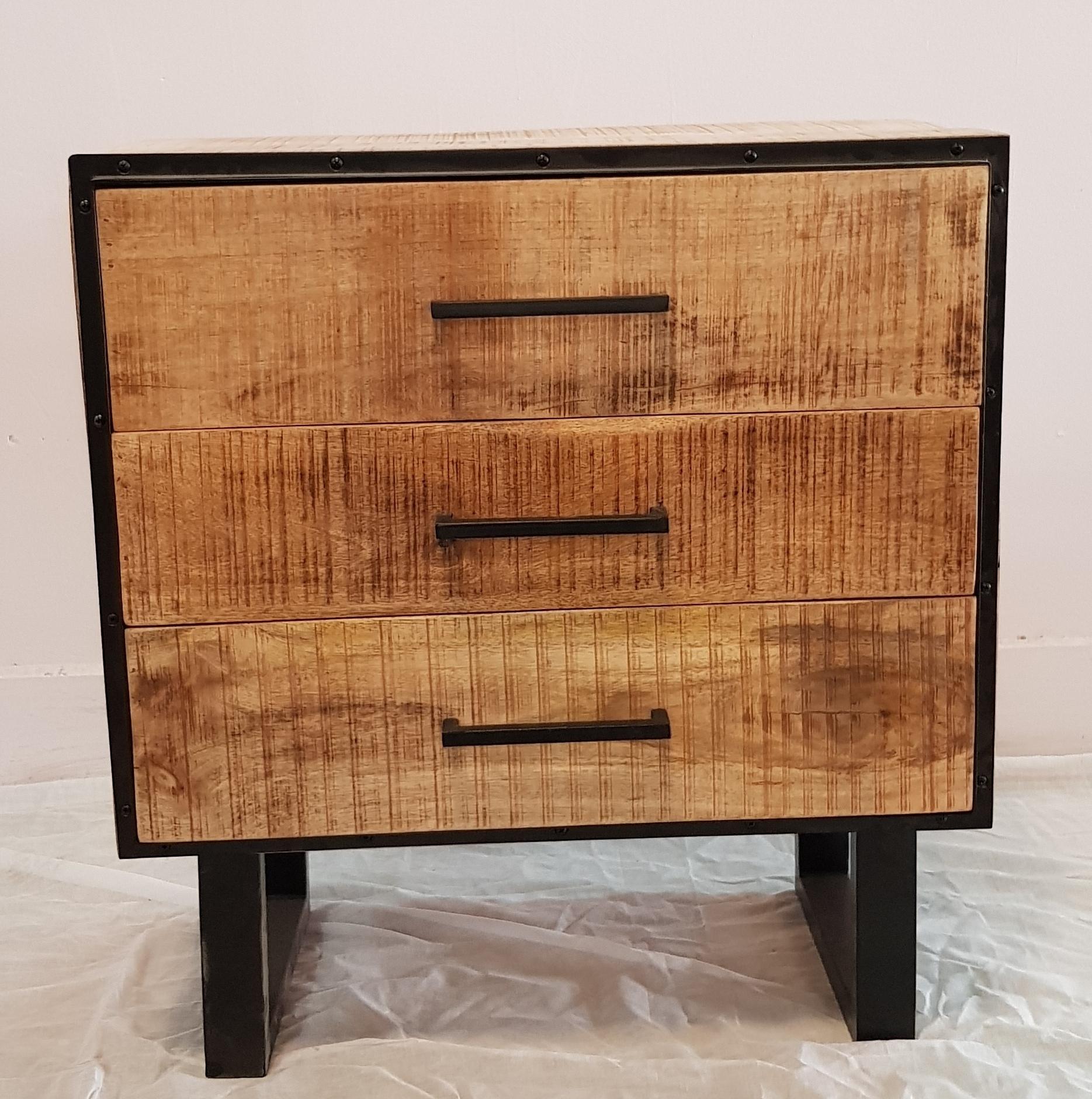 3 Drawers Side Board