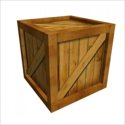 Square Wooden Box