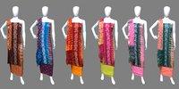 Shibori Handmade Bandhej Dress Material
