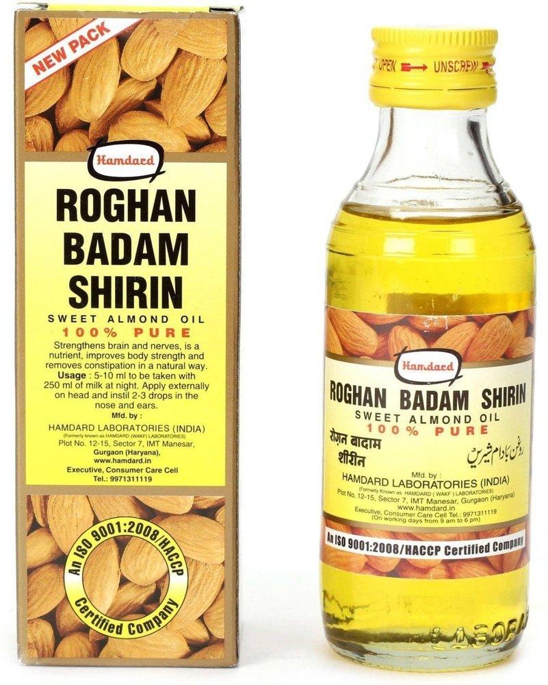 Hamdard Roghan Badam Shirin Sweet Almond Oil, 100ml