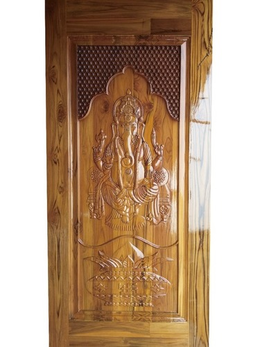 Sagwan Pooja Room Door