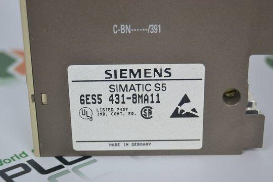 SIEMENS 6ES5 431-8MA11