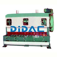 Over Crank Mechanical Shearing Machine