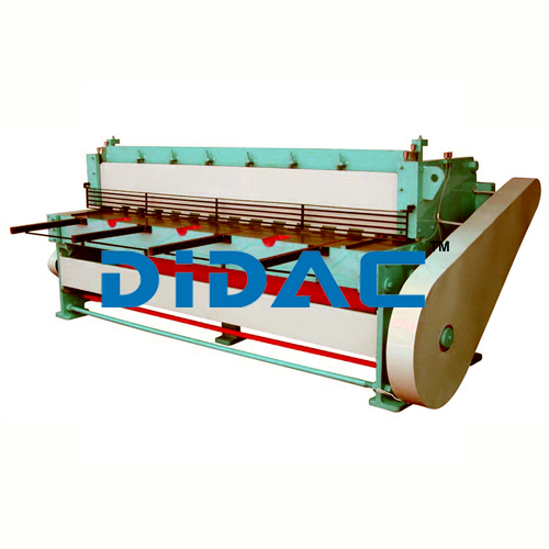 Under Crank Mechanical Shearing Machine