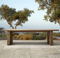 Railway Sleeper Dining Table