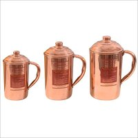 CopperKing Handmade Pure Copper Jug (All Size)