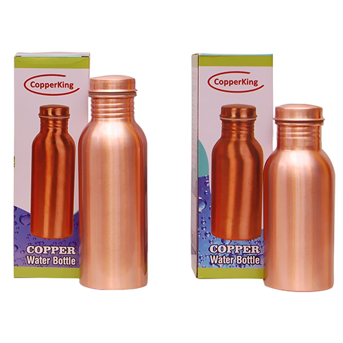 CopperKing Pure Copper Bottle 750ml & 600ml