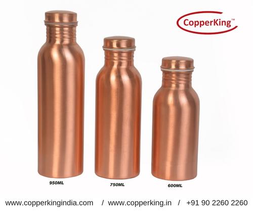 Pure Copper Water Bottle