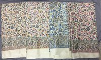 Flower Print Manipuri/Lilen Chanderi Silk Saree