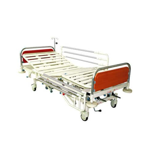 Hi-Low ICU Bed (with U shape S.S. Bows)