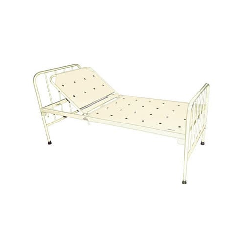 Primary Care Hospital Bed with backrest on ratchet