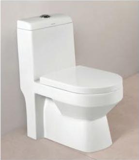 One Piece Toilet - 7002