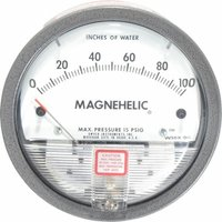Dwyer USA Model 2120 Magnehelic Gage Range 0-120 Inch WC