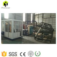 Cyclopentane CP High Pressure PU Pouring Machine for Refrigerator / Sandwich Panel